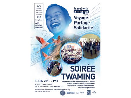 Soirée Twaming - Marseille